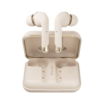 Căști wireless Happy Plugs Air 1 Plus In-Ear, auriu poza