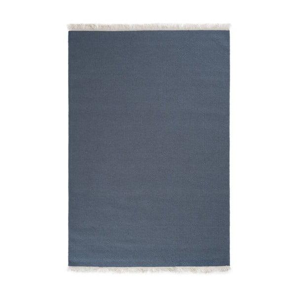 Vlněný koberec Rainbow Indigo, 200x300 cm