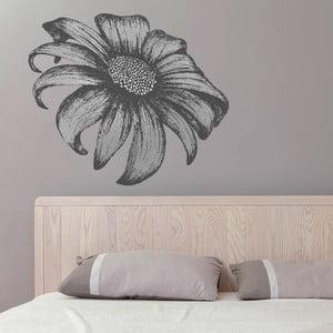 Samolepka na zeď Kreslená slunečnice, 90x60 cm