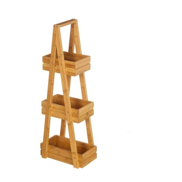 Suport din bambus cu 3 etajere Unimassa Bamboo