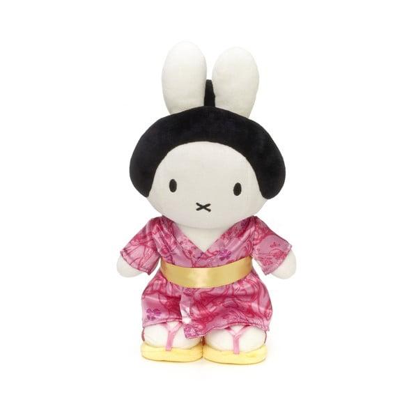 Plyšový králík Miffy Japonka, 23 cm
