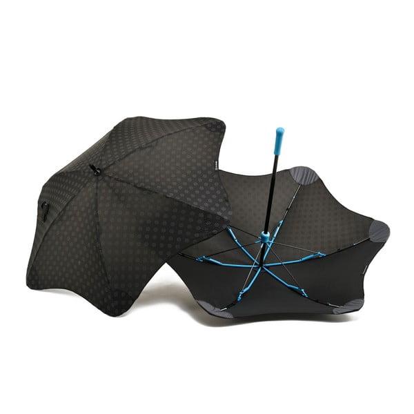 Vysoce odolný deštník Blunt Mini+ s reflexním potahem, modrý