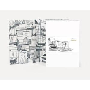 Poznámkový blok U Studio Design Books, 12 x 17 cm