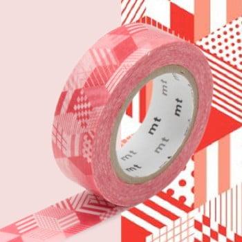 Bandă decorativă Washi MT Masking Tape Lianne, rolă 10 m de la MT Masking Tape