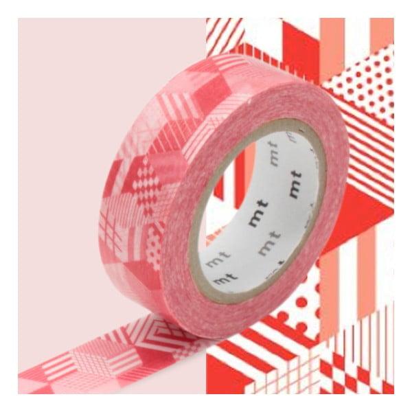 Bandă decorativă Washi MT Masking Tape Lianne, rolă 10 m