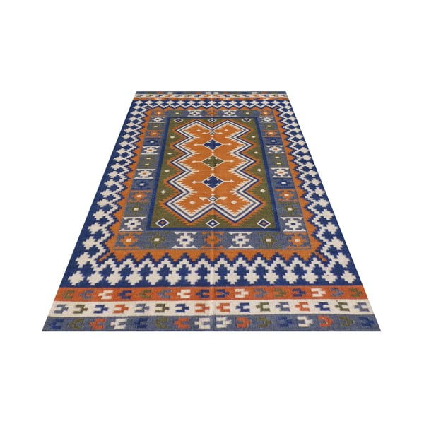 Vlněný koberec Bakero Kilim No. 733, 155x240 cm