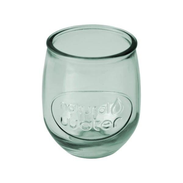 Světle zelená sklenice z recyklovaného skla Ego Dekor Water, 0,4 l