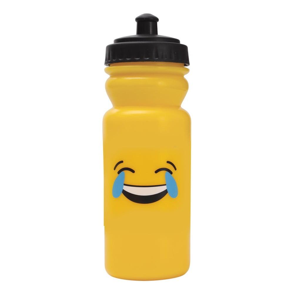 Sportovní lahev na vodu Bergner Emoticon Laugh, 600 ml