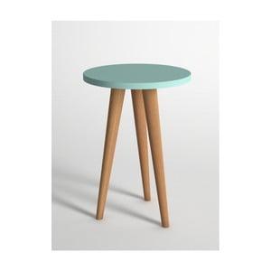 Modrý odkládací stolek Monte Roma