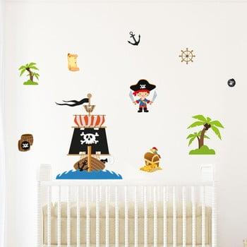 Autocolant camera copiilor Ambiance Pirate