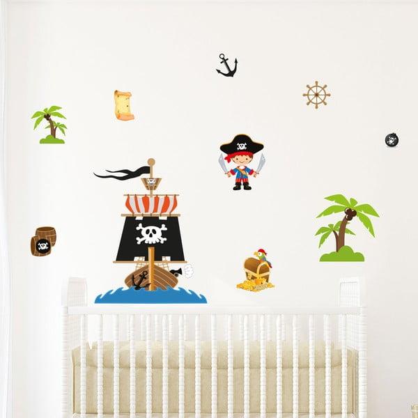 Dziecięca naklejka na ścianę Ambiance Pirate