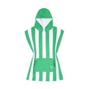 Dětská zelená rychleschnoucí osuška s kapucí DockandBay