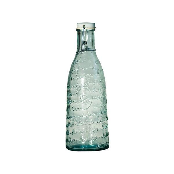Mediterraneo üveg palack újrahasznosított üvegből, 1000 ml - Ego Dekor