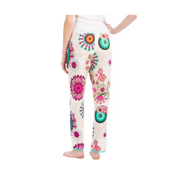 Kalhoty na doma DESIGUAL Blossom, vel. L/XL
