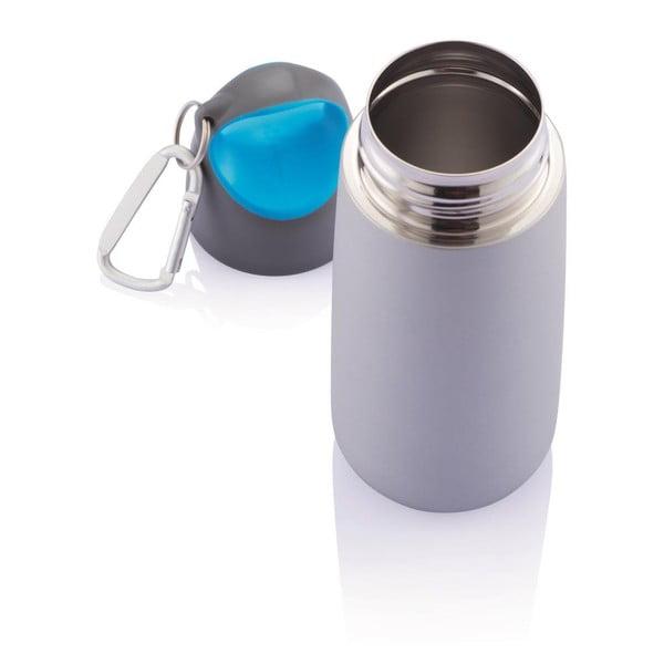 Modrá lahev s karabinou XD Design Mini Bopp