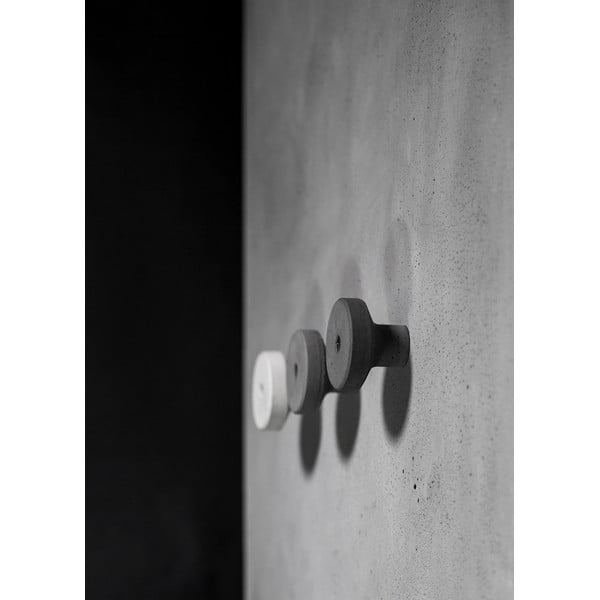 Betonový věšák AUGA, 9 cm