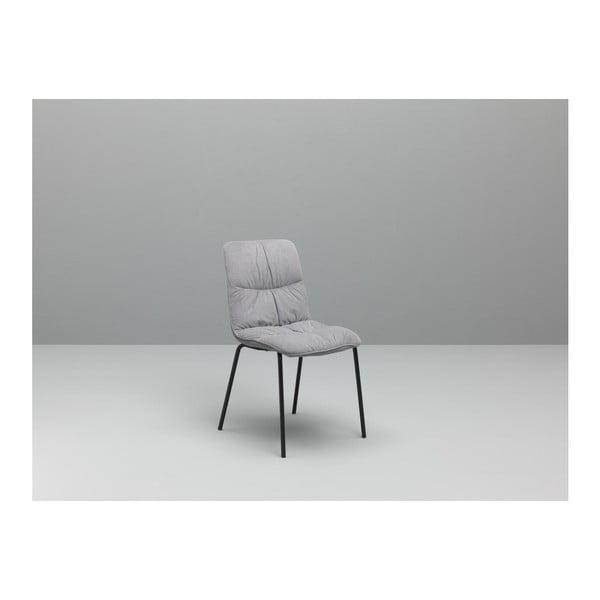 Sada 4 šedých jídelních židlí Design Twist Cerlak