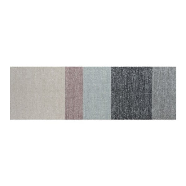 Vlněný koberec Poraka Heather, 80x250 cm