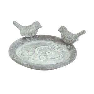 Recipient pentru hrănit păsări Esschert Design, gri