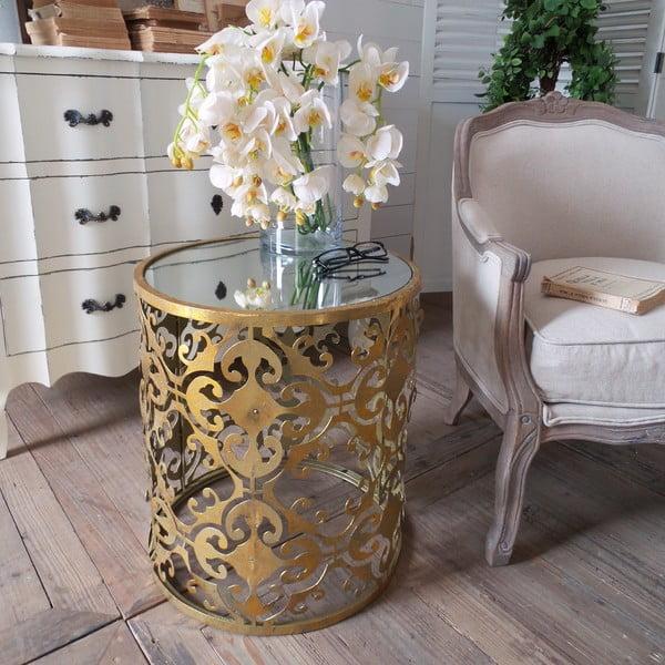 Odkládací stolek Gold Coffee