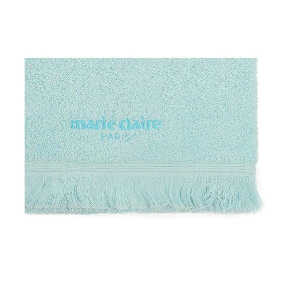 Modrý ručník Marie Claire