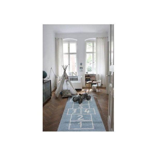 Koberec Verano 160x120 cm, modrý