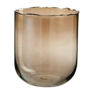 Skleněná váza J-Line Rough Edge