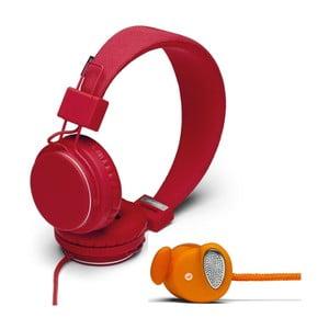 Sluchátka Plattan Tomato + sluchátka Medis Orange ZDARMA