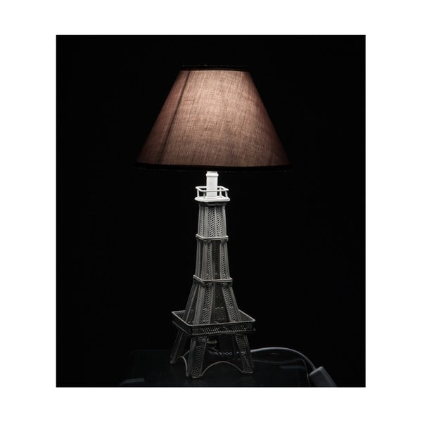 Stolní lampa Eiffel Tower Grey