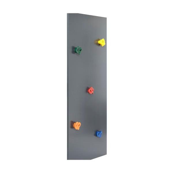 Szara ścianka wspinaczkowa Manis-h, wys. 125 cm