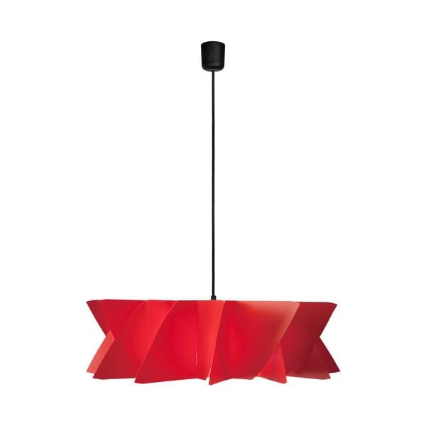 Závěsné svítidlo Diamond red/black