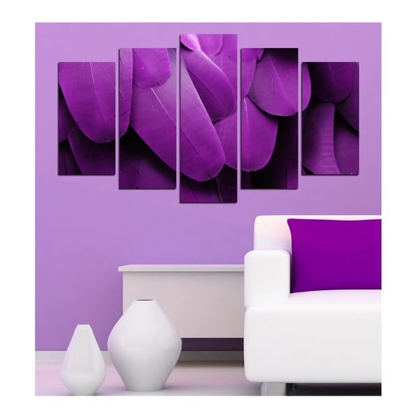 Vícedílný obraz 3D Art Fiello, 102x60cm