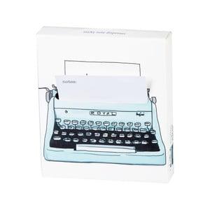 Poznámkový bloček Thinking gifts Popnotes Typewriter