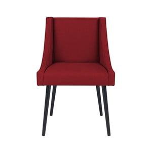 Červená židle Micadoni Home Massimo