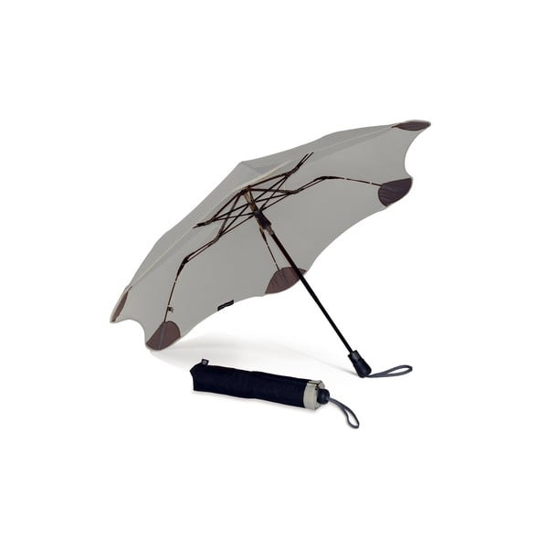 Vysoce odolný deštník Blunt XS_Metro 95 cm, šedý