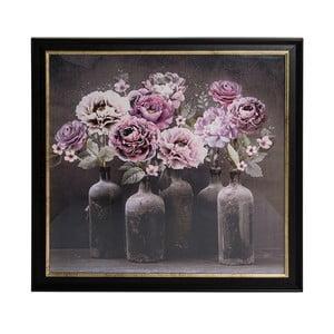 Tablou cu ramă Graham & Brown Bloom Floral, 80 x 80 cm