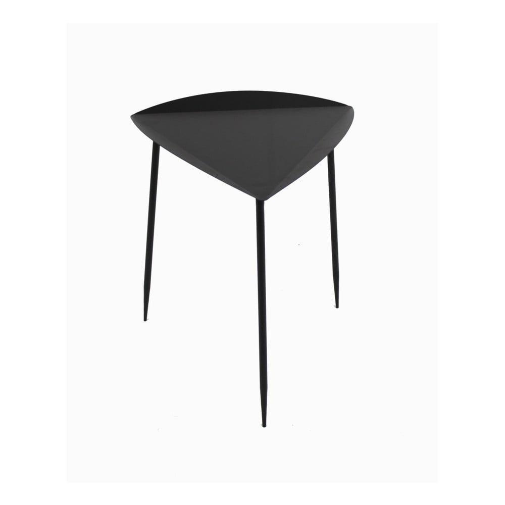 Černý příruční stolek Red Cartel Galb