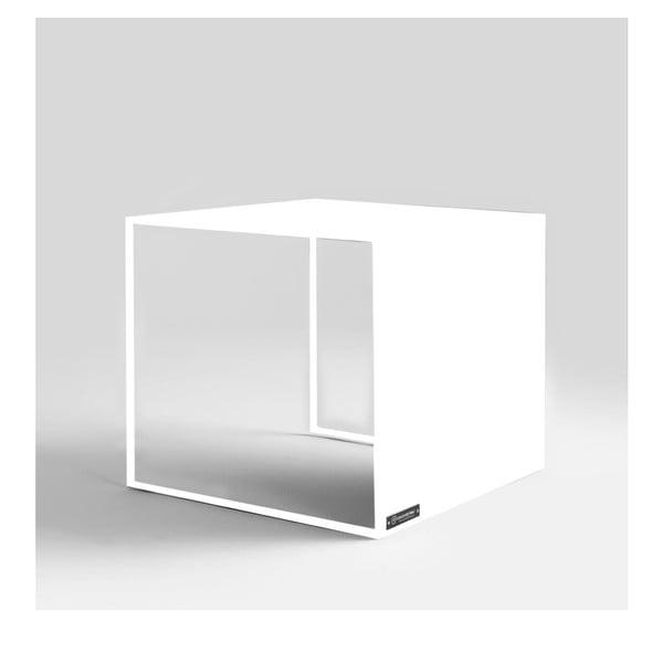 Masă auxiliară Custom Form 2Wall, alb