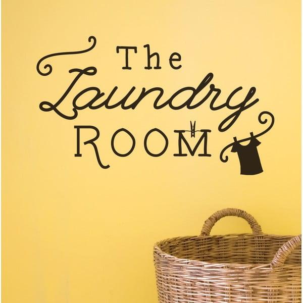 Dekorativní nástěnná samolepka Laundry Room