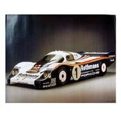 Plakát Rothmans Porsche 956 C Coupé, 82x58 cm