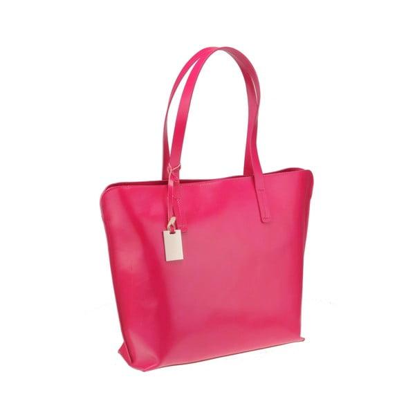 Kožená kabelka Vega, růžová