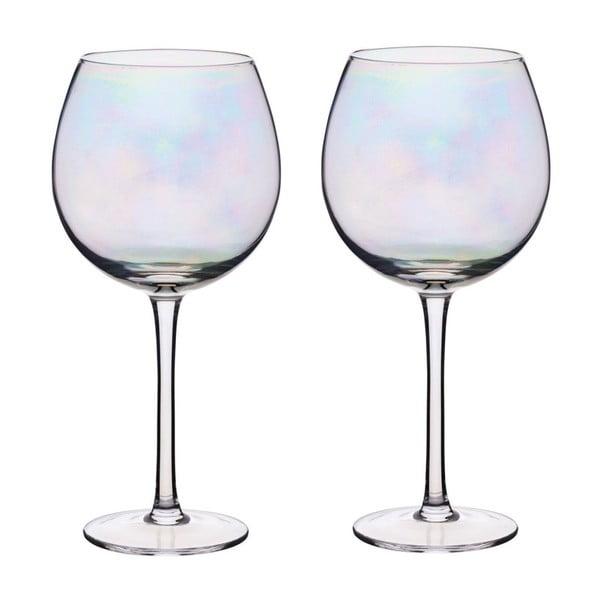 Sada 2 sklenic na víno s perleťovým efektem Kitchen Craft