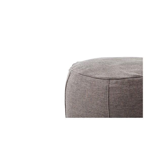 Venkovní sedací puf/stolek Storm vhodný do každého počasí, 40x50 cm