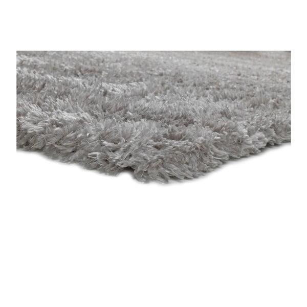 Šedý koberec vhodný i na ven Universal Aloe Liso, 140 x 200 cm