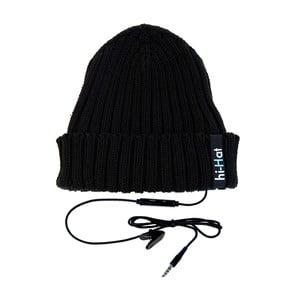 Hi-Hat Zimní čepice se sluchátky, černá