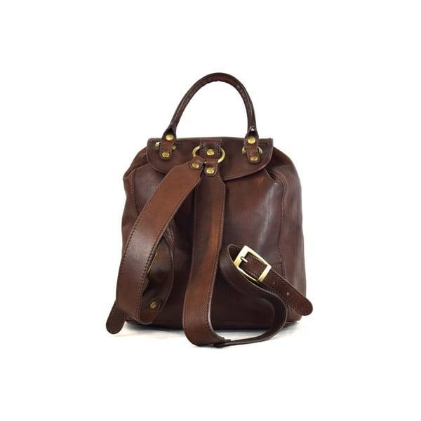 Kožený batůžek Santo Croce 8834 Dark Brown