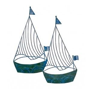 Plující jachty