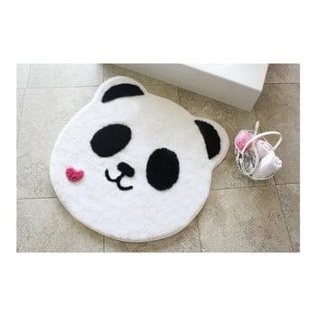 Covoraș de baie Confetti Bathmats Panda, Ø 90 cm de la Chilai Home by Alessia