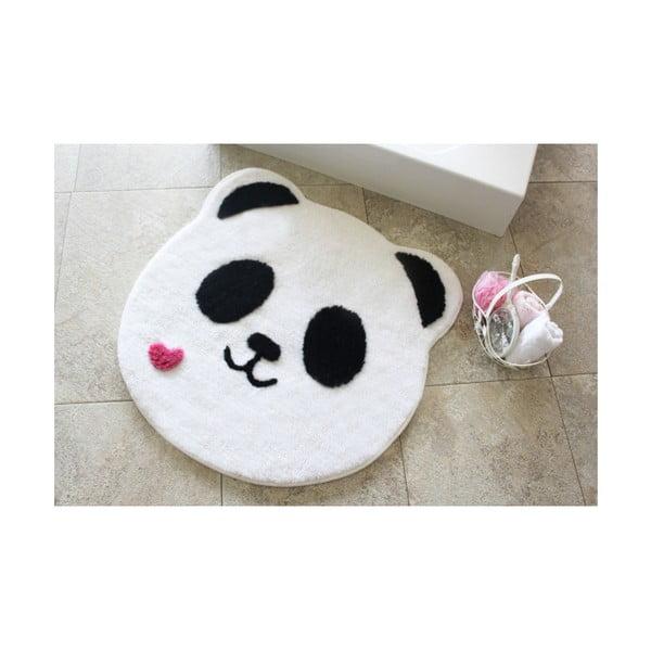 Koupelnová předložka Panda Shape, ⌀ 90 cm