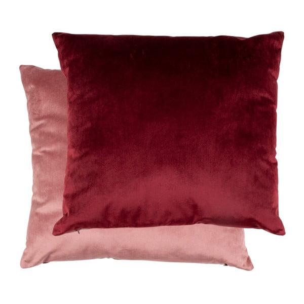 Oboustranný růžový polštář se sametovým potahem House Nordic Braga, 45x45cm